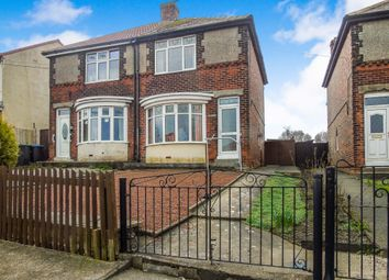 Thumbnail 2 bed semi-detached house for sale in Wingate Road, Trimdon Station