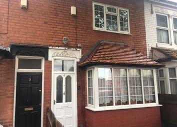 Thumbnail 3 bed terraced house to rent in Sandbourne Road, Birmingham