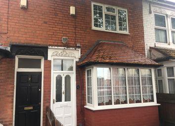 Thumbnail 3 bedroom terraced house to rent in Sandbourne Road, Birmingham