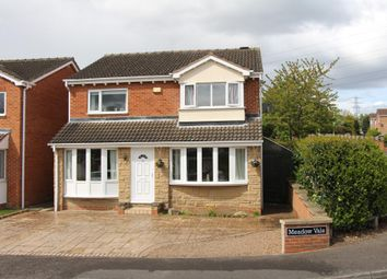 Thumbnail 4 bed detached house for sale in Meadow Vale, Outwood, Wakefield