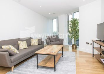 Thumbnail 2 bed flat to rent in Sky View Towers, Stratford