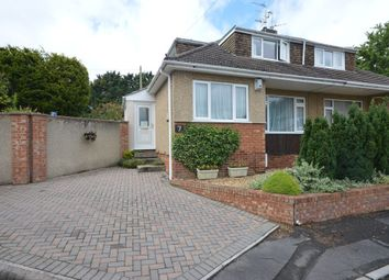 Thumbnail 3 bed semi-detached house for sale in Orchard Close, Keynsham