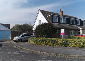 Thumbnail 3 bed semi-detached house for sale in Wallace Close, Abingdon
