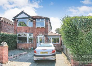 Thumbnail 3 bed detached house for sale in Mansfield Road, Flixton, Manchester
