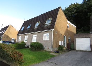 Thumbnail 3 bed semi-detached house for sale in Sparke Close, Plympton, Plymouth
