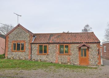 Thumbnail 2 bed detached bungalow for sale in The Green, Aldborough, Norwich