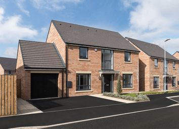 "Thumbnail 4 bed detached house for sale in ""The Stannington"" at Loansdean, Morpeth"