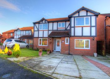 Thumbnail 5 bed detached house for sale in Beaver Close, Durham