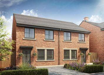 Thumbnail 3 bedroom semi-detached house for sale in Beech Crescent, Heighington Village, Newton Aycliffe