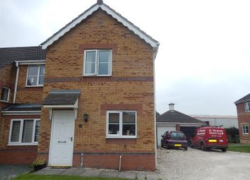 Thumbnail 2 bedroom semi-detached house for sale in Riverside Approach, Gainsborough