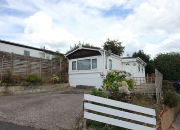 Thumbnail 1 bed mobile/park home for sale in Beechdown Park, Totnes Road, Paignton, Devon