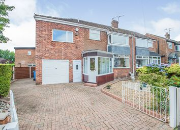 Thumbnail 4 bed semi-detached house for sale in Arlington Avenue, Swinton, Manchester, Greater Manchester