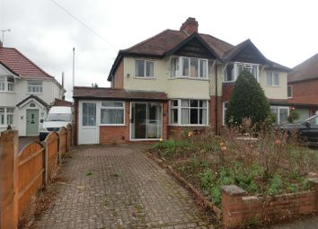Thumbnail 3 bed semi-detached house for sale in Alfreda Avenue, Hollywood, Birmingham