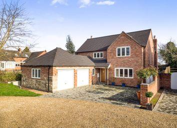 Thumbnail 4 bed detached house for sale in Barrow Lane, Swarkestone, Derby