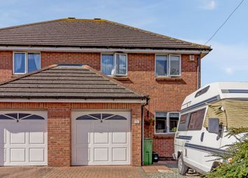 Thumbnail 3 bed semi-detached house for sale in Sandycroft Road, Churchdown, Gloucester, Gloucestershire