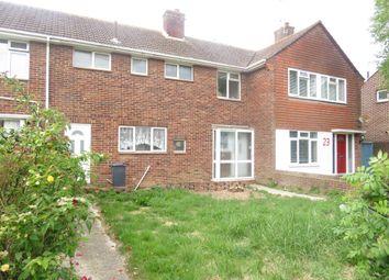 Thumbnail 3 bed terraced house for sale in Ely Road, Worthing