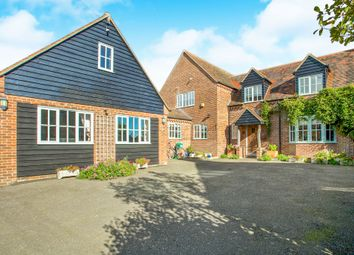Thumbnail 4 bedroom detached house for sale in Aldreth Road, Haddenham, Ely