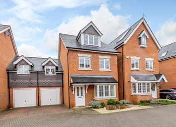 Thumbnail 5 bed link-detached house for sale in Englefield Close, Englefield Green, Egham