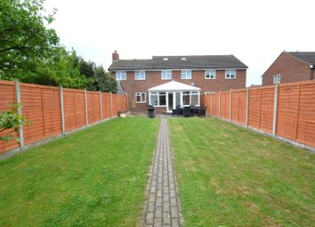 Thumbnail 4 bed semi-detached house for sale in Kings Road, Glemsford, Sudbury
