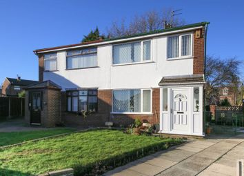 Thumbnail 3 bed semi-detached house for sale in Reedsmere Close, Newtown, Wigan