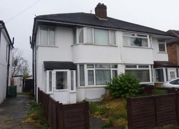 Thumbnail 3 bed semi-detached house for sale in Barmouth Avenue, Perivale, Greenford