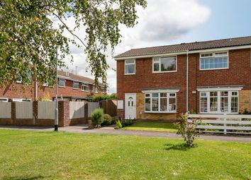 Thumbnail 3 bed end terrace house for sale in Grove Park, Beverley, East Yorkshire
