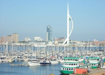 Thumbnail 2 bed flat to rent in Sanderling Lodge, Rope Quays, Gosport