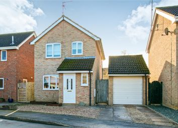 Thumbnail 3 bed detached house for sale in Jones Close, March