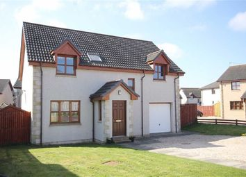 Thumbnail 4 bed detached house for sale in Glassgreen Place, Elgin