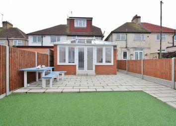 Thumbnail 4 bed semi-detached house for sale in Gwynn Road, Northfleet, Gravesend