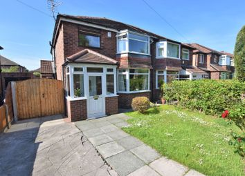 Thumbnail 3 bed semi-detached house for sale in Broad Oak Lane, East Didsbury, Didsbury, Manchester