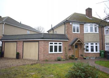 Thumbnail 3 bed semi-detached house for sale in The Crest, Goffs Oak, Waltham Cross