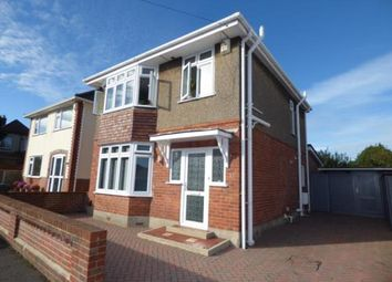 Thumbnail 3 bed detached house for sale in Hood Crescent, Bournemouth