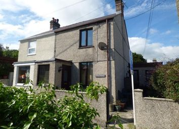 Thumbnail 2 bed semi-detached house for sale in Fron Heulog, Llanfairpwllgwyngyll, Anglesey