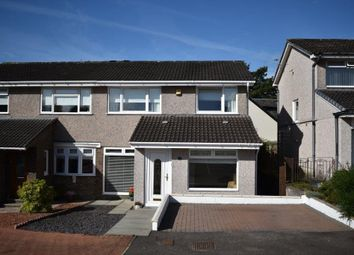 Thumbnail 3 bed semi-detached house for sale in 20 Meadowbank Avenue, Strathaven