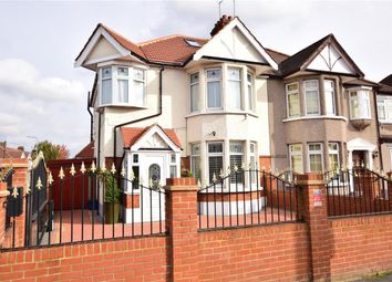 Thumbnail 3 bed semi-detached house for sale in Woodford Avenue, Ilford, Essex