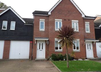 Thumbnail 4 bed terraced house to rent in Carpenters Close, Hedge End, Southampton