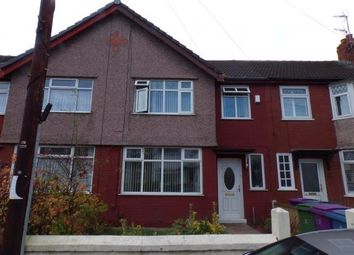 Thumbnail 3 bed terraced house for sale in Pitville Road, Mossley Hill, Liverpool, Merseyside
