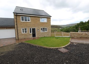 Thumbnail 5 bed detached house for sale in Castle Lane, Todmorden