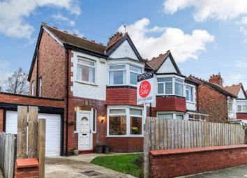 Thumbnail 3 bed semi-detached house for sale in Townsville Avenue, Whitley Bay
