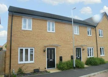 Thumbnail 3 bed end terrace house to rent in Herald Way, Gunthorpe, Peterborough