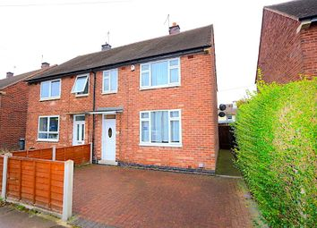 Thumbnail 3 bed semi-detached house for sale in New Parks Boulevard, Leicester