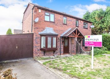 Thumbnail 2 bed semi-detached house for sale in Robin Court, Kidderminster