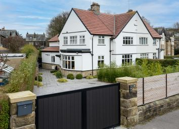 Thumbnail 4 bed semi-detached house for sale in West Park Crescent, Roundhay, Leeds