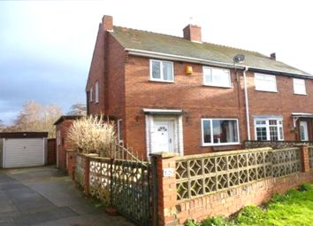 Thumbnail 3 bed semi-detached house for sale in Meadway, Streethouse, Pontefract, West Yorkshire