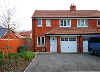 Thumbnail 3 bed semi-detached house for sale in Reed Way, Petersfield