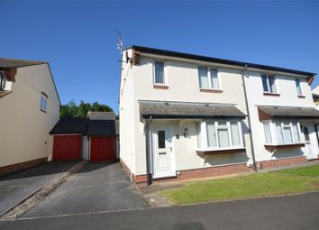 Thumbnail 3 bed semi-detached house for sale in Loram Way, Exeter, Devon