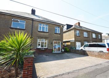 Thumbnail 3 bed semi-detached house for sale in Heritage Road, Cheriton, Folkestone