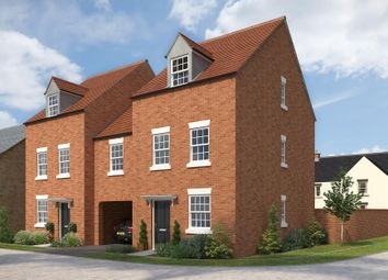 "Thumbnail 4 bedroom semi-detached house for sale in ""Millwood"" at The Leyes, Deddington, Banbury"