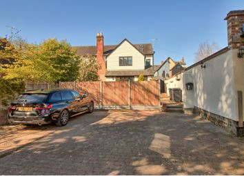 Thumbnail 4 bed semi-detached house for sale in Ermine Court, Church Street, Buntingford